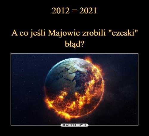 """2012 = 2021  A co jeśli Majowie zrobili """"czeski"""" błąd?"""
