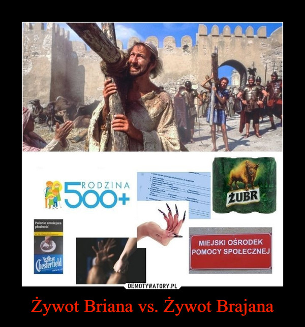 Żywot Briana vs. Żywot Brajana –