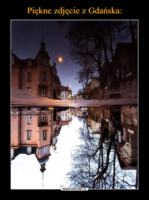 Piękne zdjęcie z Gdańska: