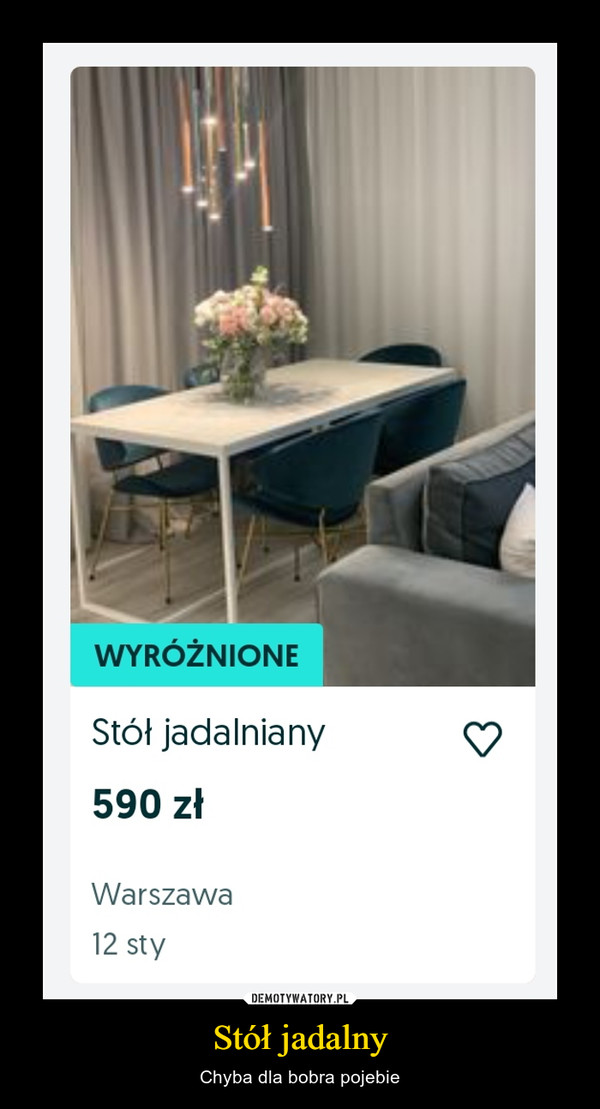 Stół jadalny