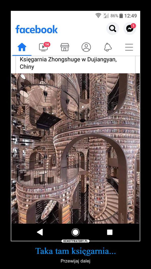 Taka tam księgarnia... – Przewijaj dalej