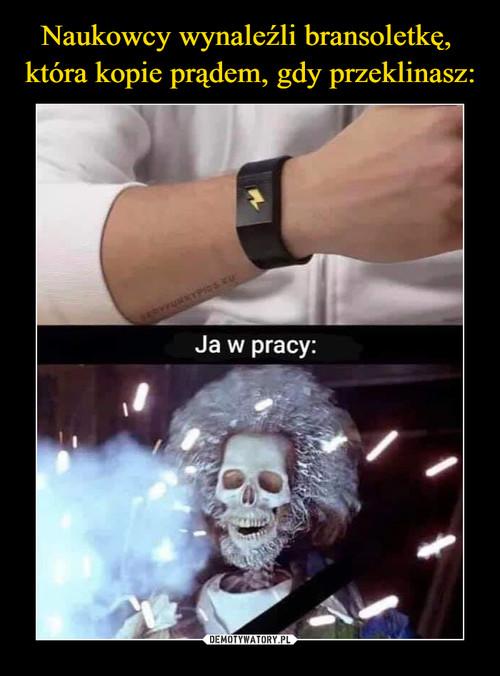 Naukowcy wynaleźli bransoletkę,  która kopie prądem, gdy przeklinasz: