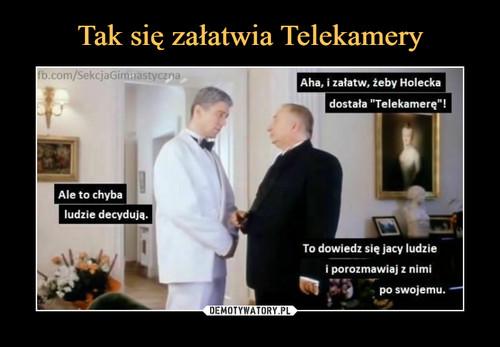 Tak się załatwia Telekamery
