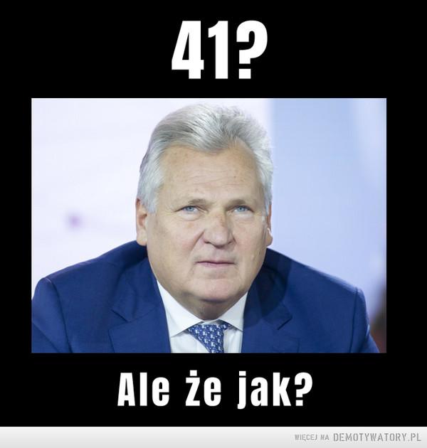 Rekord Kwaśniewskiego pobity! –