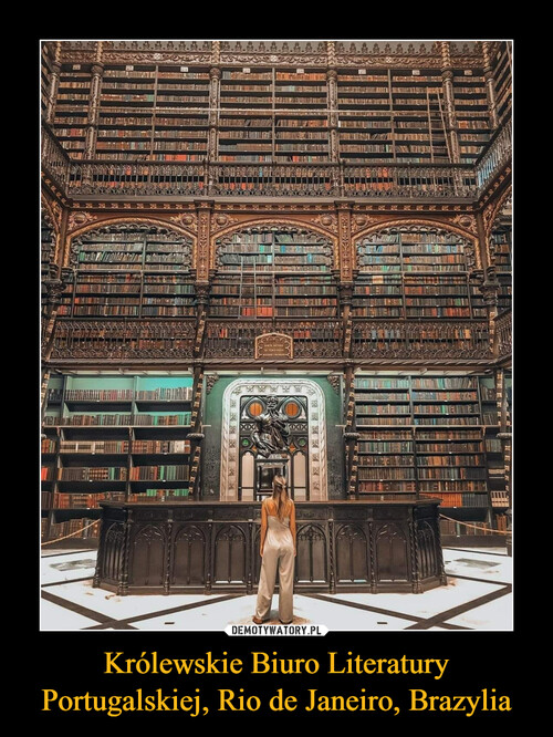 Królewskie Biuro Literatury Portugalskiej, Rio de Janeiro, Brazylia