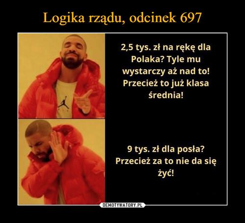 Logika rządu, odcinek 697
