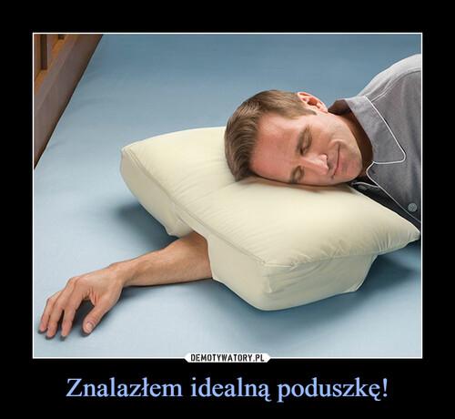 Znalazłem idealną poduszkę!