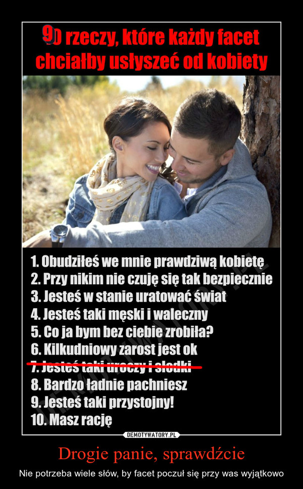 Drogie panie, sprawdźcie – Demotywatory.pl